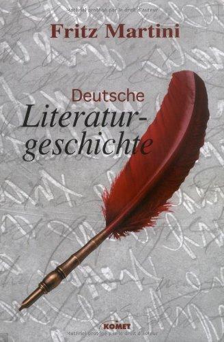 9783898363815: Deutsche Literaturgeschichte.
