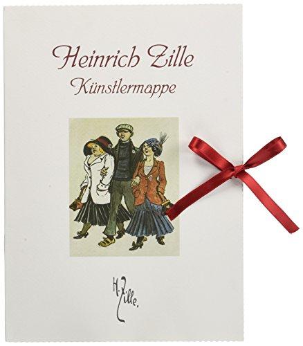 9783898366991: Heinrich Zille, Künstlermappe