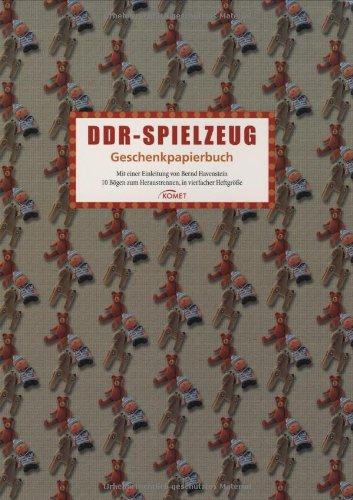9783898367370: DDR-Spielzeug: Geschenkpapierbuch