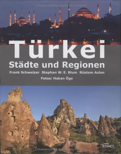 9783898367486: Türkei - Städte und Regionen
