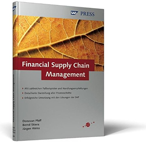 9783898422499: Financial Supply Chain Management (SAP PRESS)