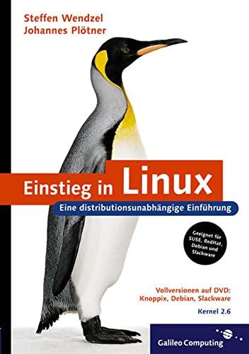9783898424813: Einsteig in Linux.