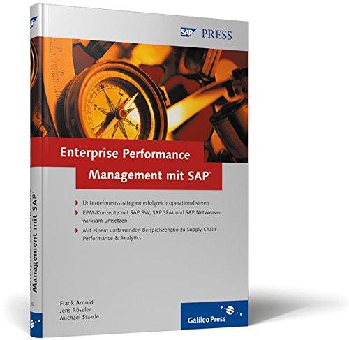 9783898424868: Enterprise Performance Management mit SAP.