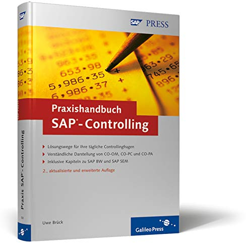 9783898425650: Praxishandbuch SAP-Controlling: Einf�hrung in sinnvolles und effizientes Controlling (SAP PRESS)
