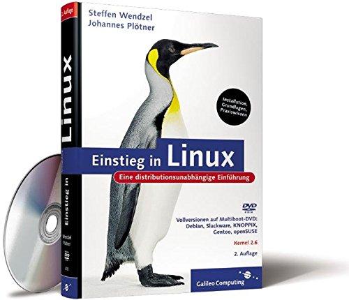 9783898426787: Einstieg in Linux, m. CD-ROM