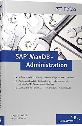 9783898427302: MaxDB-Administration