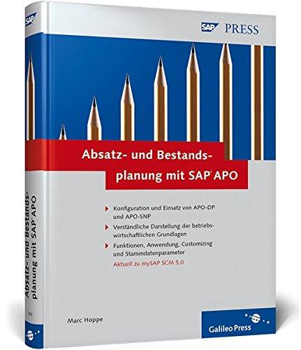 9783898427913: Absatz- und Bestandsplanung mit SAP APO