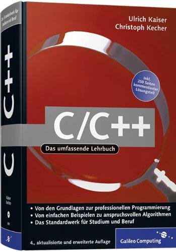 9783898428392: C/C++: Von den Grundlagen zur professionellen Programmierung