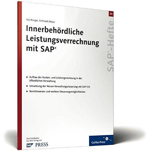 Innerbehördliche Leistungsverrechnung mit SAP: SAP-Heft 20 (SAP-Hefte): Gerhardt, Eduard, Krüger,