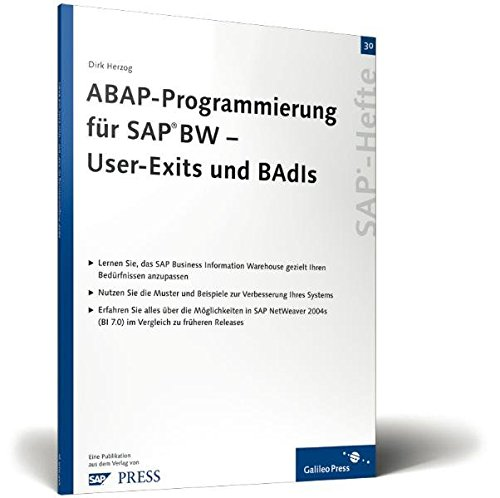 ABAP-Programmierung für SAP BW – User-Exits und