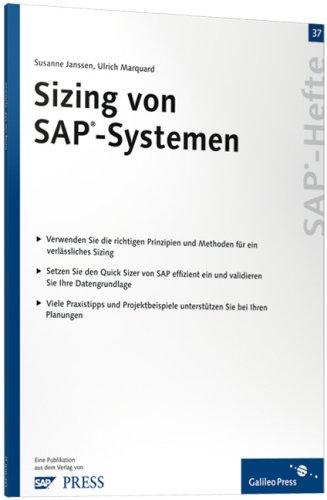 Sizing von SAP-Systemen: SAP-Heft 37 (SAP-Hefte)