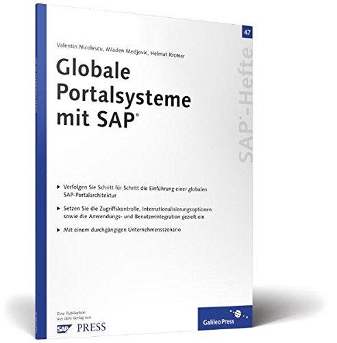 Globale Portalsysteme mit SAP: SAP-Heft 47 (SAP-Hefte): Nicolescu, Valentin, Medjovic,