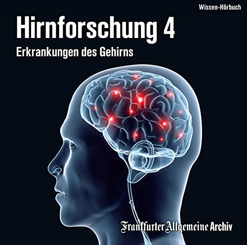 9783898431873: Hirnforschung, Audio-CDs Erkrankungen des Gehirns, 2 Audio-CDs