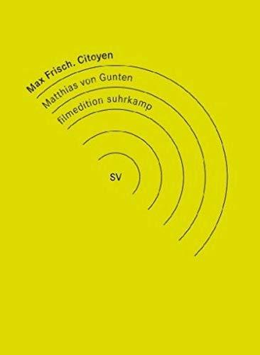 9783898485531: Max Frisch, Citoyen [Alemania] [DVD]
