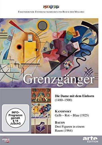 9783898489959: Grenzgänger: Die Dame mit dem Einhorn / Kandinsky / Bacon (unveröffentlichte Folgen) (NTSC [Alemania] [DVD]