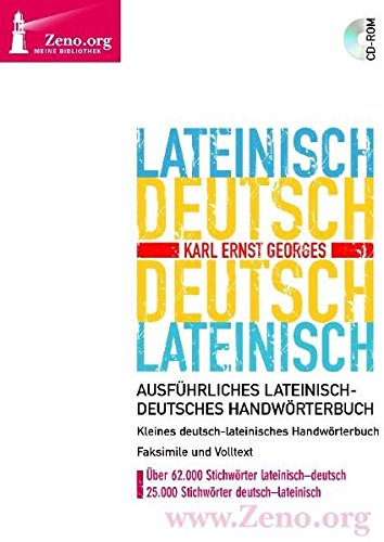 Georges Lateinisch-Deutsch / Deutsch-Lateinisch. Windows Vista; XP; 2000; NT; ME; 98: Georges,...