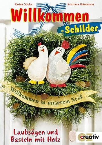 9783898583909: Willkommen-Schilder