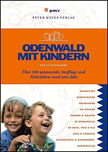 9783898594004: Odenwald mit Kindern.