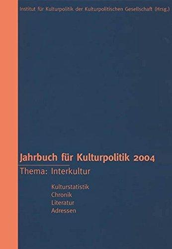 9783898612975: Jahrbuch für Kulturpolitik 2004: BD 4