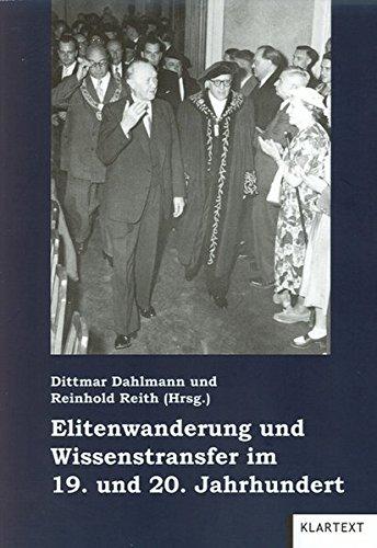 9783898618557: Elitenwanderung und Wissenstransfer im 19. und 20. Jahrhundert: Migration in Geschichte und Gegenwart