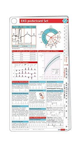 9783898621526: EKG pocketcard Set