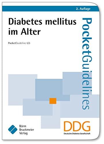 9783898629577: Diabetes mellitus im Alter