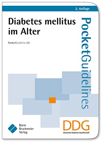 9783898629577: Diabetes mellitus im Alter: Pocket Guideline 6/6