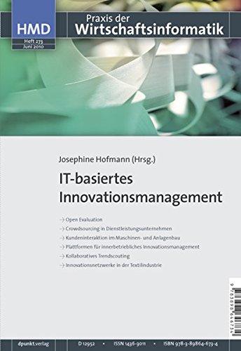 9783898646734: IT-basiertes Innovationsmanagement: HMD - Praxis der Wirtschaftsinformatik