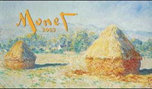 9783898652605: Claude Monet Desk Calendar: 2002