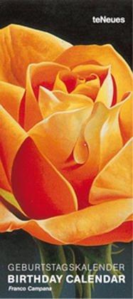 9783898656962: Franco Campana: Roses Birthday Calendar