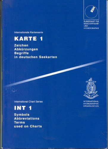 Zeichen, Abkürzungen, Begriffe in deutschen Seekarten /Symbols,
