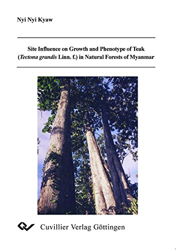 Site Influence on Growth and Phenotype of Teak (TEctona grandis Linn.f.) in Natural Forests of ...