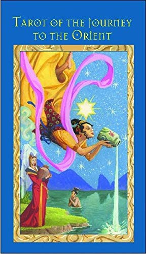 9783898755177: Marco-Polo-Tarot Inspiriert von der Reise des Marco Polo durch das alte China; 78 Karten mit dt. Anleitung und dt. Untertiteln