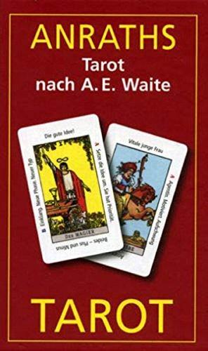 9783898757966: Anraths-Waite-Tarot. 86 Tarotkarten m. dt.- Anleitung, 65 x 110mm