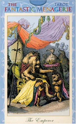 9783898758734: The Fantastic Menagerie Tarot, Tarotkarten
