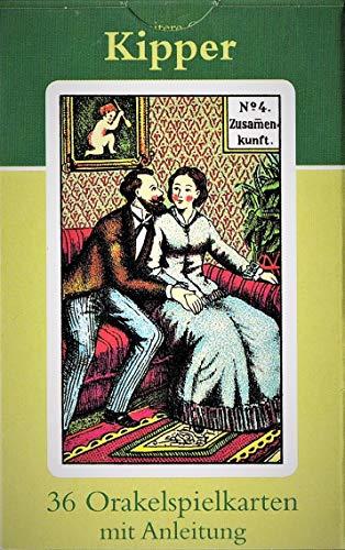 9783898758765: Kipper Orakelkarten. 36 Orakelkarten mit dt. Anleitung
