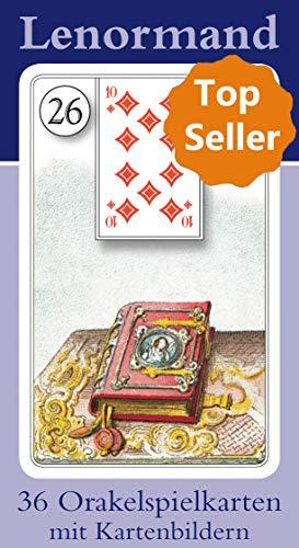 9783898758772: Lenormand Orakelkarten mit Kartenabbildungen: 36 Orakelkarten