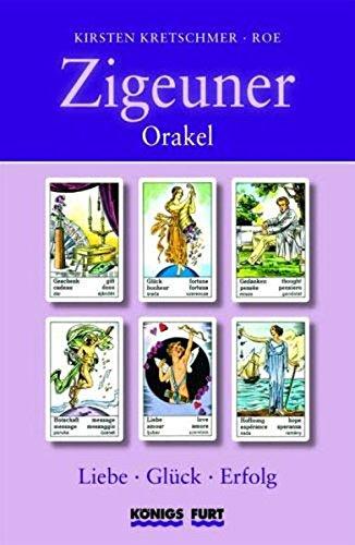 9783898758796: Zigeuner Orakel LGE: Liebe, Glück, Erfolg