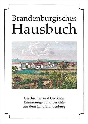 9783898766012: Brandenburgisches Hausbuch
