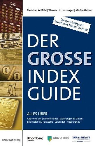 9783898791373: Der gro�e IndexGuide