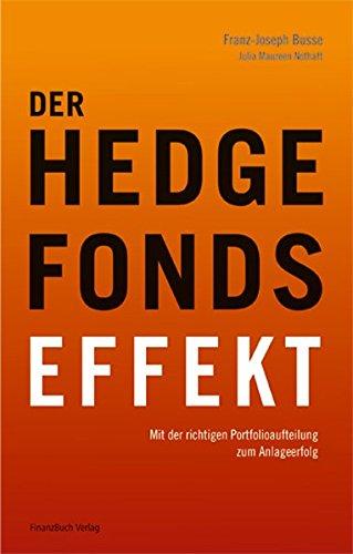9783898793193: Der Hedgefonds-Effekt: Mit der richtigen Portfolioaufteilung zum Anlageerfolg
