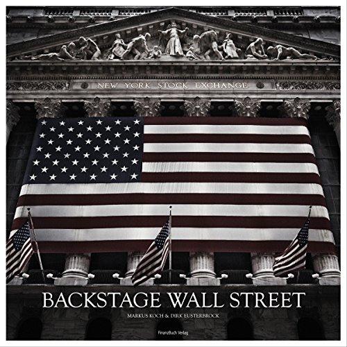 9783898793698: Backstage Wall Street: Bilder, Stories und Film