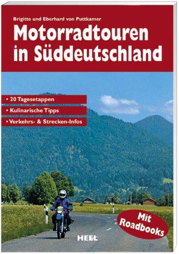 9783898802239: Motorradtouren in Süddeutschland