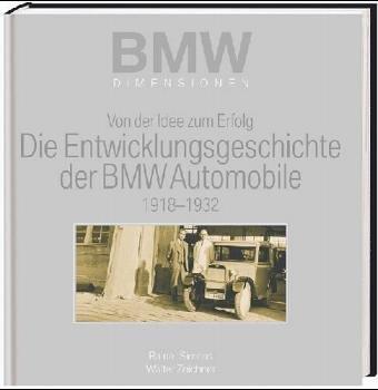 9783898803243: Entwicklungsgeschichte der BMW-Automobile 1918-1932