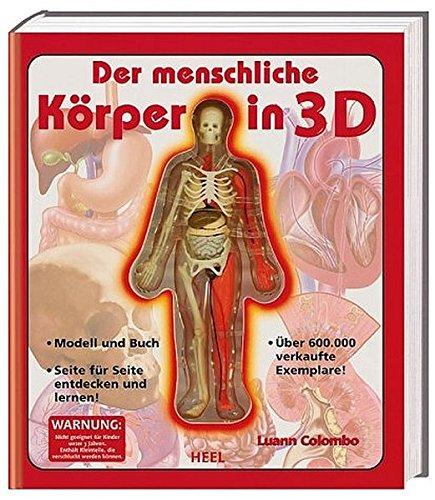 9783898803663: Der menschliche Körper in 3D.