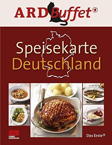 9783898833110: ARD Buffet, Speisekarte Deutschland