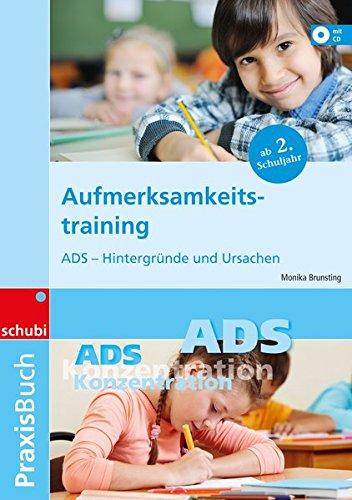 9783898913065: Praxisbuch Aufmerksamkeitstraining, m. CD-ROM