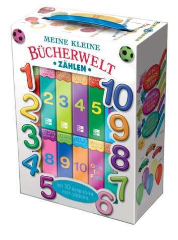 9783898931854: Meine kleine B�cherwelt : Zahlen von 1 bis 10