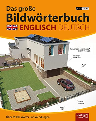 9783898946544: JOURIST Das große Bildwörterbuch Englisch-Deutsch: 35.000 Wörter und Wendungen