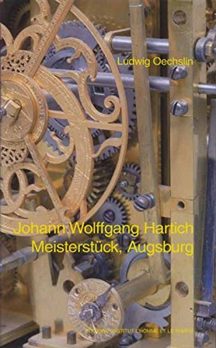Johann Wolffgang Hartich - Meisterstück, Augsburg: Ludwig Oechslin